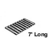 23'' W x 7' Roll Out, Narrow Spacing, Teak/Ipe