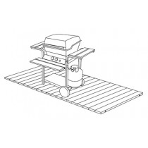 "23"" Wide x 48"" Long, Barbecue Mat, Narrow Spacing"